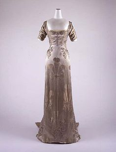 Dress, Evening  ca. 1911