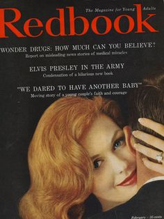 February 1961 REDBOOK Cover.