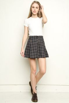 Brandy ♥ Melville | Brya Skirt - Bottoms - Clothing