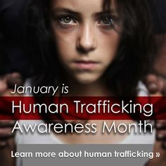 January is Human Trafficking and Stalking Awareness Month — if we each do our part, all of California can experience freedom.   http://vcgcb.ca.gov/victims/issues/humantrafficking/  #humantrafficking #HT #modernslavery #stalking