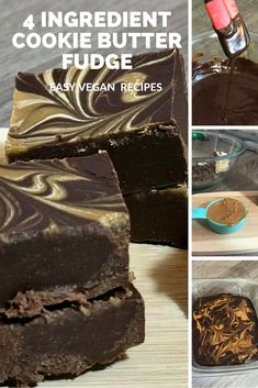 If you are craving that chocolatey goodness but without the stomach ache from dairy, check out this completely dairy-free recipe that will satisfy any sweet tooth! And the best part? It's only four ingredients! #vegan#veganrecipes#easyveganrecipes#veganfudge#recipeofthemonth#diybloggers#blogrecipe