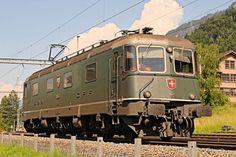 """Re 6/6 11646 """"Bussigny"""" a Leissigen (CH) il 1 luglio 2013 - (Foto: Riccardo Genova)"""