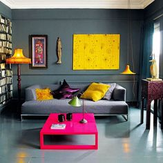 Warna Cat Dinding Ruang Tamu Biru Living Room Designs Decor
