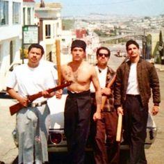 The East Bay Chicano - repost). Arte Cholo, Cholo Art, Chicano Love, Chicano Art, Chicano Studies, Old School Pictures, Cute Spanish Quotes, Estilo Cholo, Cholo Style