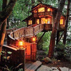 Amazing treehouse...