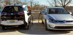 BMW and VW in partnership with ChargePoint, anelectric charging station…