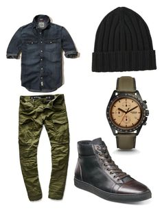 """Men's wear"" by allonasada on Polyvore featuring G-Star Raw, Hollister Co., Florsheim, FOSSIL, Uniqlo, men's fashion and menswear"