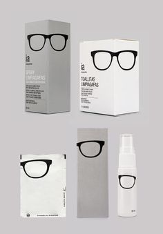 Interapotek : Spanish Designer Eduardo del Fraile and team created this package design for pharmacies. Clever optic #packaging PD