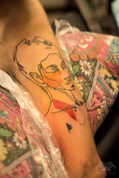 In progress by Tenius Tattoo Perú