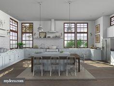 New Hampshire Kitchen - Designer LizyD (nickname)