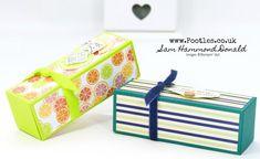 Stampin' Up! #1 Demonstrator Pootles - Fold Flat Easy Stick Box Tutorial using Stampin' Up! Supplies