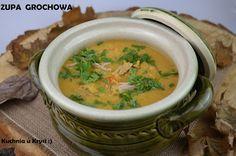 Kuchnia u Krysi : Zupa grochowa na golonce, idealna na jesień