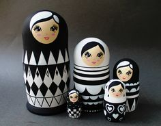 Matryoshka Doll, Kokeshi Dolls, Montessori Toys, Wooden Hand, Wooden Dolls, Recycled Crafts, Diy Doll, Altoids Tins, Hobby Shop