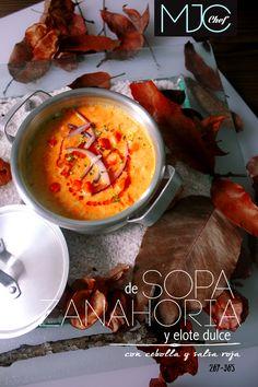 Carrot Soup (#267) #carrot #cornkernel #redsauce