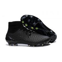 Women Nike Magista Obra FG Firm Ground Black Volt