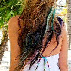 My mermaid hair (for Vacation 2011)