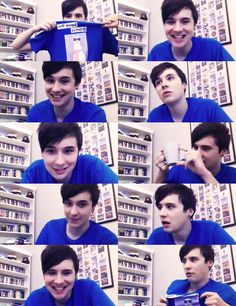 Dan Howell I absolutely need that shirt! Its amazing!!!