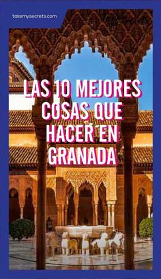 The best things to do in - las mejores cosas que hacer en Granada Cool Places To Visit, Places To Go, Cuenca Spain, Weekend Packing, Spain Holidays, How To Speak Spanish, Andalusia, Spain Travel, Malaga