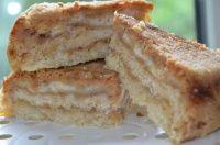 Torta de maçãs em camadas