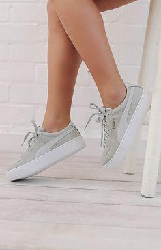 320b8c3f0d3d Puma Vikky Platform Sneaker - Gray Violet Puma Vikky Platform