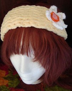 Pale Yellow Ultra Soft Boho Knit Womens by jennymillerartistry, $10.99