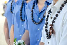 Groom and Groomsmen #weddingpictureideas #lightbluewedding #hawaiianwedding #tommybahama