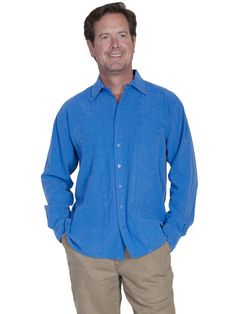 Scully Cantina Collection Mens Button Down Casual Chic Shirt CM9