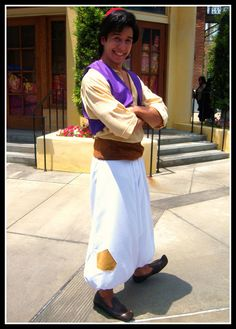 Aladdin Street Rat Disney Costume - wonder if I can talk Scotty into wearing this??