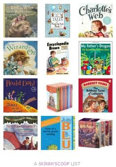 6. Best Chapter Books to Read Aloud with Kids Repin #Momselect Backtoschool