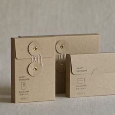 Muhs Home - Small Kraft Flap Envelopes