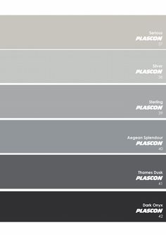 Plascon Essential Collection – The Neutrals: Greys - Plascon Trends