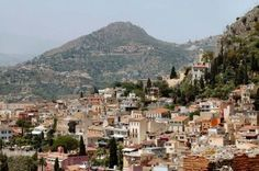 Taormina, A Sicilian Town in Southern Italy