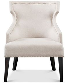 Found it at Wayfair - Nottingham Wingback Chair Wingback Accent Chair, Accent Chairs, Wingback Chairs, Chair Upholstery, Baby Room Lighting, Family Room Decorating, Contemporary Landscape, Room Lights, Accent Furniture