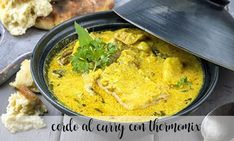 Chuleta de cerdo al curry con Thermomix - carnes y pollo con Thermomix - Thermomix Wok, Thai Red Curry, Meat, Ethnic Recipes, Indian, Pork Chops, Vegetable Stock, Tasty Food Recipes, Diners