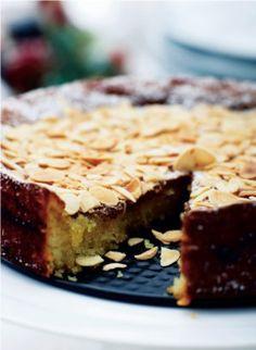 Bag en skøn mandelkage - helt uden mel og smør!