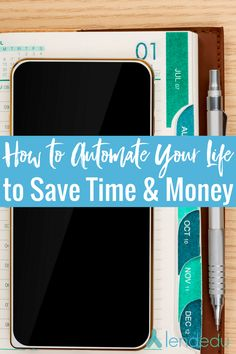 Millennials | Productivity | Save Money | Save Time - How to Automate Your Life to Save Time and Money