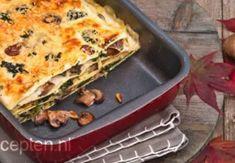 Lasagne met paddestoelen recept - Hartig - Eten Gerechten - Recepten Vandaag