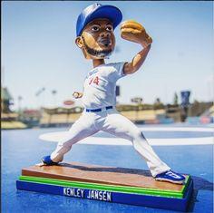 Kenley Jansen Boblehead Promo 6/4 lasftix.com/jjbh0525 #WeLoveLA #ticket #Baseball #Dodgers #ITFDB