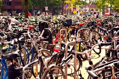 bike parking in Enschede