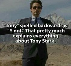 Tony Stark is one of the coolest superhero from Marvel comics. If you are searching for tony stark quotes then we bring you the best 35 tony stark quotes. Avengers Humor, Marvel Jokes, Marvel Comics, Funny Marvel Memes, The Avengers, Dc Memes, Funny Memes, Hilarious, Deadpool Funny