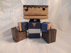 Wooden Pirate Robot........with a Hook