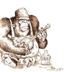Bluegrass gorilla. Hahaha!