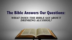 Does the Bible give us guidance as NT believers, into whether we should drink, club, party, and use alcohol like so much of society does today?