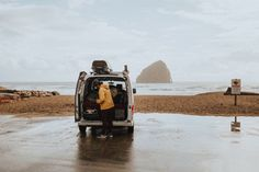 Sleeping in your car gives you the freedom to experience the open road! In this post, we're sharing all of our car camping tips and tricks to help you with this important road trip step. We're sharing everything from free places to sleep, what to pack, and how to stay warm! #roadtrip #carcamping #camping #travel #adventure