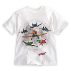 Planes Tee for Boys | Tees, Tops & Shirts | Disney Store