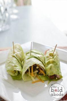 turkey and bacon lettuce wraps-9