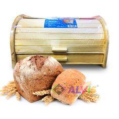 Cutie paine lemn cu sertar