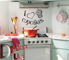 Wandtattoo Happy Kitchen | Farbinspiration | Pinterest | Wandtattoo ...