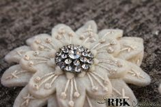 Felt Corsages by rbkcreations, via Flickr