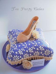 Jimmy Choo Bridal Shower Cake